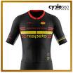 Maillot corto ciclista alta gama Evo21 - modelo RESPETO negro - Uso intensivo