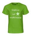 T-Shirt für den Schulanfang personalisiert