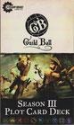 Guild Ball Season III Plot Card Deck englisch