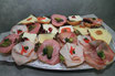 Dinkelbrötchen- Mindener Platte