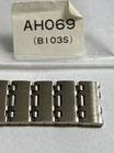 Seiko Vintage Link/Ersatzglied Referenz: AHO69 (B103S) - 70 ziger Jahre - ca. 15,5 breit - Edelstahl - NOS (New old Stock) - mit leichten Lagerspuren - Lieferumfang 1 Stück!