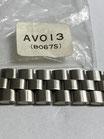 Seiko Vintage Link/Ersatzglied Referenz: AVO13 (B067S) - 70 ziger Jahre - ca. 16 breit - Edelstahl - NOS (New old Stock) - mit leichten Lagerspuren - Lieferumfang 1 Stück!