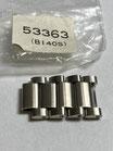 Seiko Vintage Link/Ersatzglied Referenz: 53363 (B140S) - 70 ziger Jahre - ca. 16 breit - Edelstahl - NOS (New old Stock) - mit leichten Lagerspuren - Lieferumfang 1 Stück!