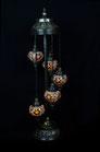 5er Mosaik Stehlampe (Glasgröße NO. 2 oder 3)