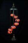 7er Mosaik Stehlampe (Glasgröße NO. 2 oder 3)