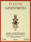 "Rosso die Montalcino DOC ""Ginestreto"" 2014 - Eredi Fuligni"