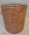Räucherstövchen Eberesche Nummer 2 mit Teelichtglasbehälter und hochwertigem Edelstahlsieb