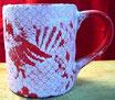 Becher Caffee ca 9 cm
