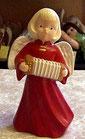 Engel mit Ziehharmonika