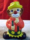 Clown mit zwei Gesichtern