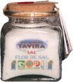 Flor de Sal im Glas 200 gr oder 400 gr