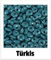 60 Linsen türkis 10mm