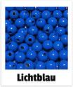 60 Perlen lichtblau 10mm