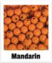 60 Perlen mandarin 10mm