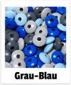100 Linsen grau-blau