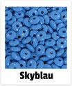 60 Linsen skyblau 10mm