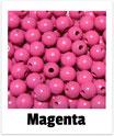 60 Perlen magenta 10mm