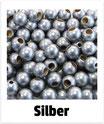 25 Sicherheits-perlen silber