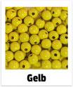 60 Perlen gelb 10mm