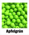 Perlen apfelgrün 9mm