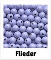 60 Perlen flieder 10mm