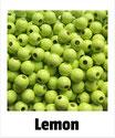 80 Perlen lemon 8mm