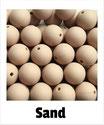 Perlen sand 15mm