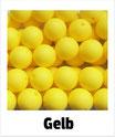 Perlen gelb 15mm