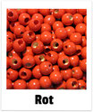 25 Sicherheits-perlen rot