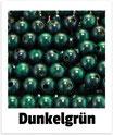 60 Perlen dun- kelgrün 10mm