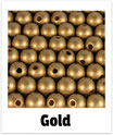 60 Perlen gold 10mm