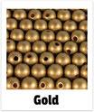 60 Perlen gold 10mm