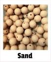 Perlen sand 9mm