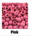 25 Sicherheits-perlen pink