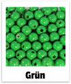 60 Perlen grün 10mm