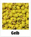 25 Sicherheits-perlen gelb