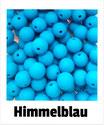 Perlen himmel- blau 9mm