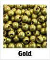 25 Sicherheits-perlen gold