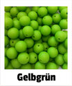 Perlen gelbgrün 9mm