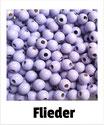80  Perlen flieder 8mm