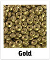 60 Linsen gold 10mm