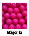 Perlen magenta 15mm