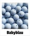 Perlen babyblau 15mm