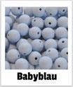 Perlen babyblau 12mm