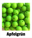 Perlen apfelgrün 12mm