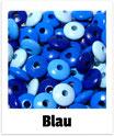 100 Linsen blau