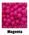 Perlen magenta 9mm