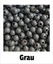 80 Perlen grau 8mm