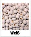 25 Sicherheits-perlen weiß