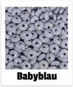 60 Linsen babyblau 10mm